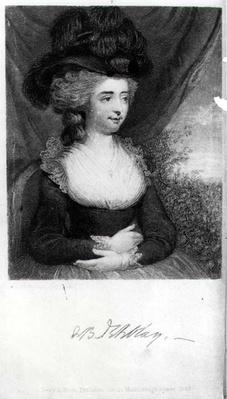 Portrait of Fanny Burney