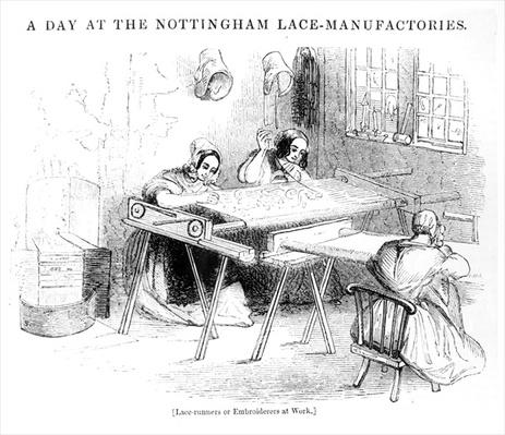 A Day at the Nottingham Lace Manufacturers