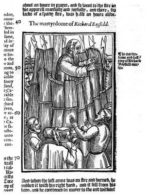The Martyrdom of Richard Bayfield