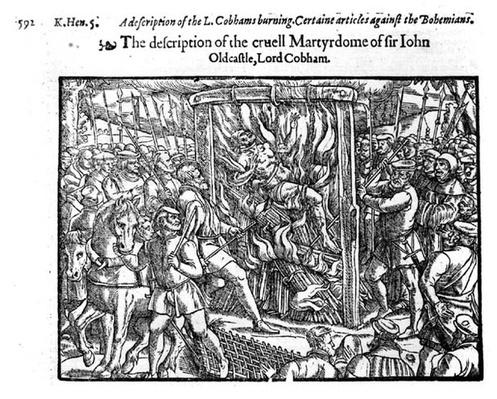 The Martyrdom of Sir John Oldcastle, Lord Cobham