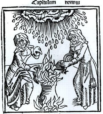 Witches Making a Spell, 1489