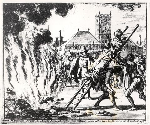 The Torture of a Witch, Anne Hendricks, in Amsterdam in 1571