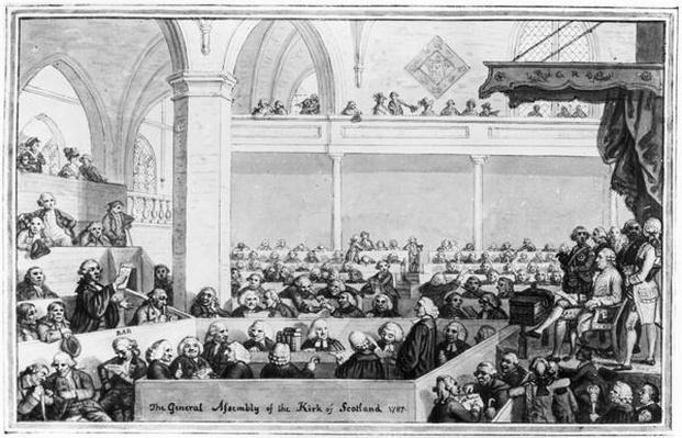 The General Assembly of the Kirk of Scotland, 1787