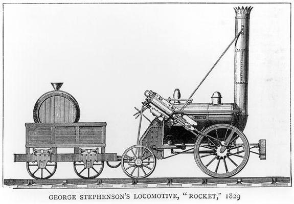 George Stephenson's Locomotive, 'Rocket', 1829