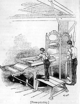 Press-printing