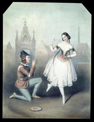 'La Esmeralda': Carlotta Grisi