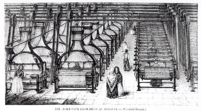 Ackroyd's Loom-Shed at Halifax