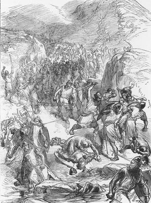 The Defeat of the English by the Welsh at Berwin