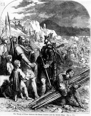 The Treaty of Peace between the Saxon Leaders and the English King
