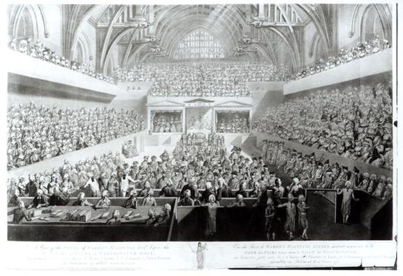A View of the Trial of Warren Hastings