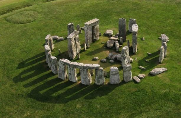 Stonehenge, aerial view | Wonders of the World