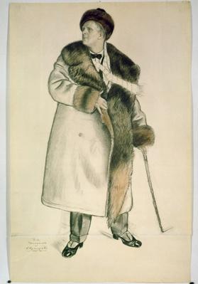 Portrait of the Opera Singer Feodor Ivanovich Chaliapin