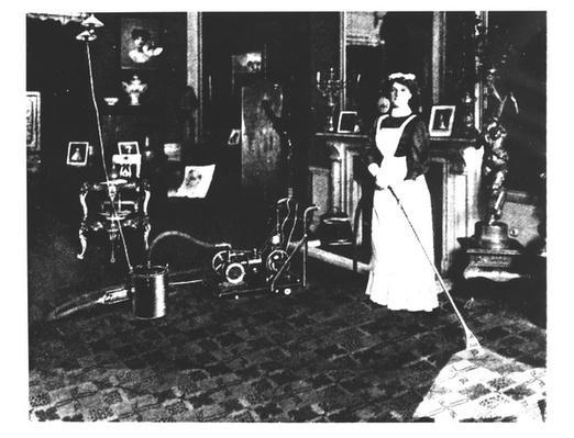 Vacuum Cleaner at Work