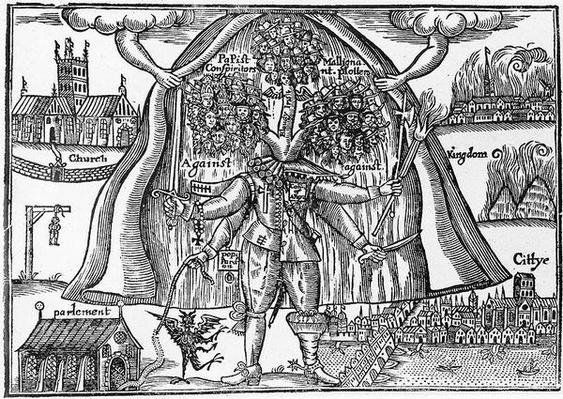 The Kingdom's Monster Uncloaked from Heaven, c.1640-43