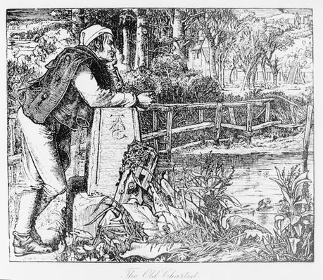 The Old Chartist, engraved by Sandys, 1909