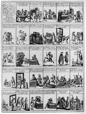 A Representation of the Popish Plot in Twenty Nine Scenes, 1680