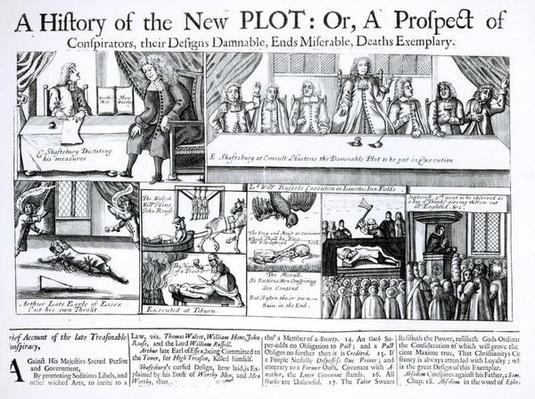 A History of the New Plot: Or, A Prospect of Conspirators, Their Designs Damnable, Ends Miserable, Deaths Exemplary