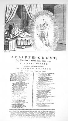 Ayliffe's Ghost: Or the Fox Stinks Worse than Ever, by Charles Alexander Churchill