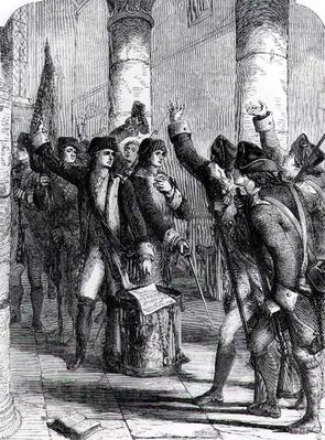 A Meeting of the Irish Volunteers in the Church of Dungannon, in 1784