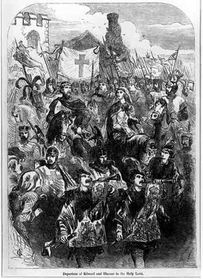 Departure of Edward I