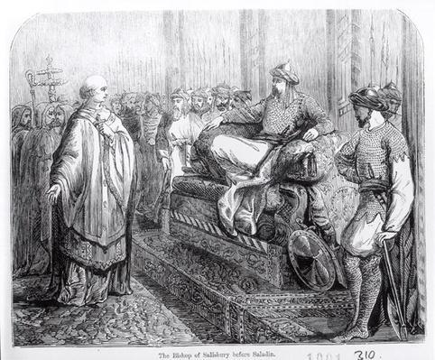 The Bishop of Salisbury before Saladin