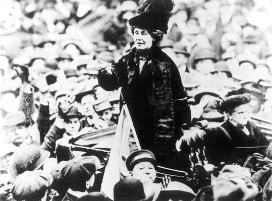 Mrs Emmeline Pankhurst