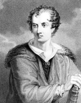 Portrait of George Gordon, 6th Lord Byron of Rochdale