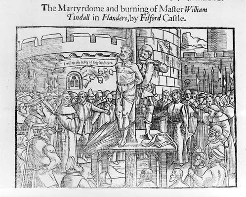 The Martydome and Burning of Master William Tindall