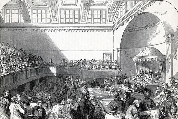 The State Trial in Dublin