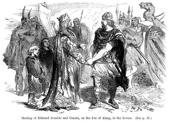 Meeting of Edmund Ironside