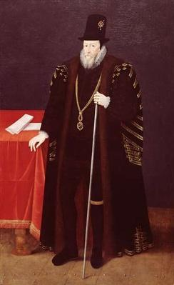 Portrait of William Cecil, 1st Baron Burghley