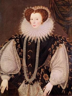Portrait of Elizabeth Sydenham, Lady Drake, c.1585