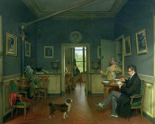 Interior of a Dining Room, 1816
