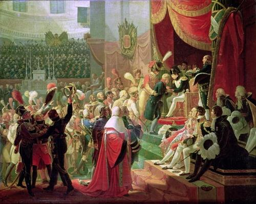 The First Distribution of Crosses of the Legion of Honour in the Church of the Invalides, 14th July 1804, 1812