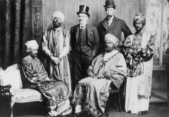 'The Emperor of Abyssinia and his Court'