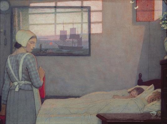 A Summer Evening, c.1925