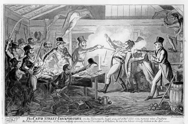The Cato Street Conspirators, pub. G. Humphrey, 1820