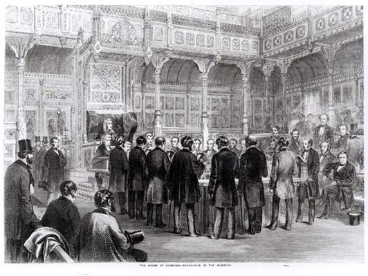 The House of Commons: Swearing-In of the Members in 1857