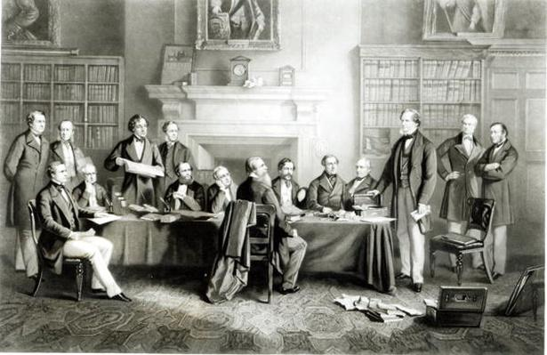 The Cabinet of Lord Derby of 1867, 1868
