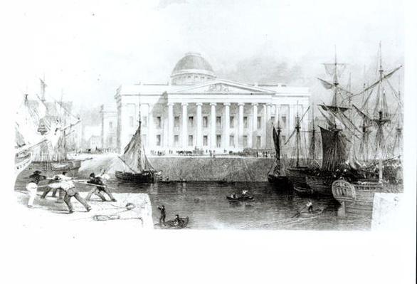 The New Custom House, Liverpool, c.1830