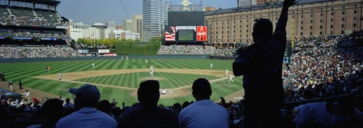 Fans at Camden Yards | Ken Burns: Baseball: The Tenth Inning