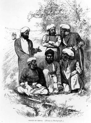 Group of Thugs, after a photograph