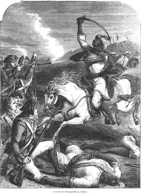 Death of the Rohilla Chief in 1781