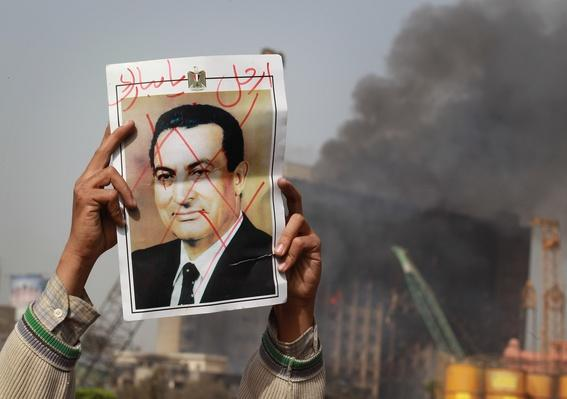 Anti Government Protesters Take To The Streets In Cairo | Arab Spring