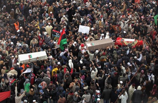 Anti-Gaddafi Protests Continue To Grow In Libya | Arab Spring