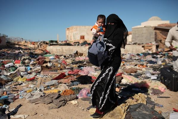Foreign Workers And Refugees Flee As Violence Continues In Libya | Arab Spring