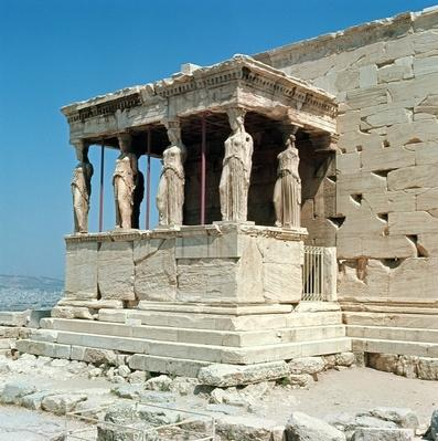 Porch of the Maidens, Erechtheion, c.421-405 BC