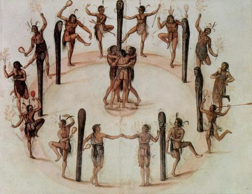 Indians Dancing