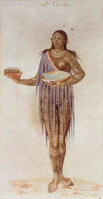 Indian Woman of Florida