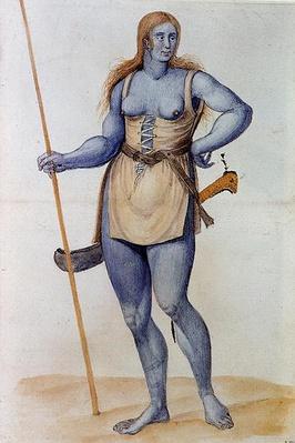 Ancient British Woman